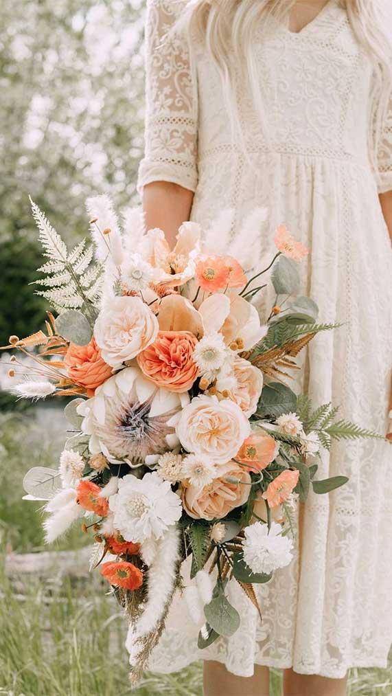 bright wedding bouquet ideas , wedding bouquet, wedding bouquet ideas, summer bouquets, bridal bouquet, bridal bouquets, sunflower wedding bouquet perfect for summer wedding #wedding #summerwedding #bouquets #weddingbouquet
