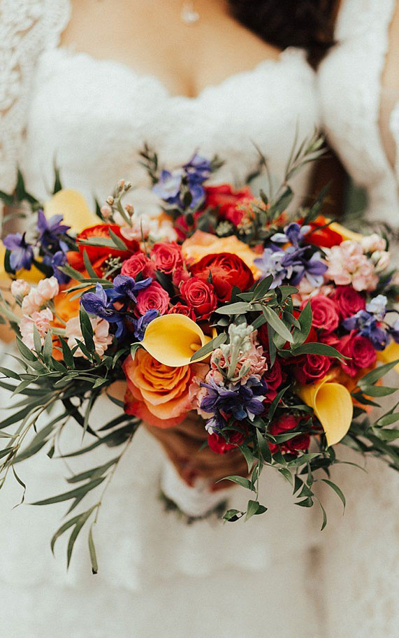 58 Jaw-Droppingly Beautiful Bouquets For Summer Wedding To Obsess Over