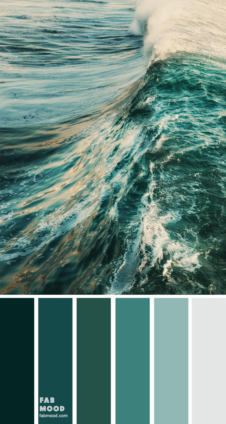 Emerald Green Ocean Color Inspiration