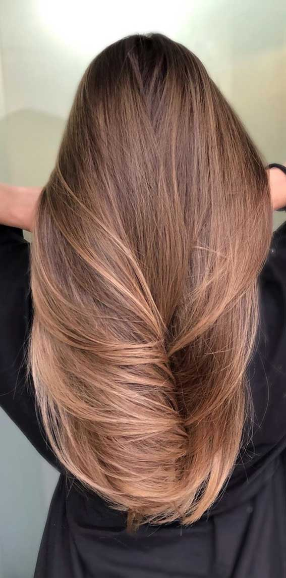 The Best Hair Color Trends And Styles For 2020 Ombre Brown Hair