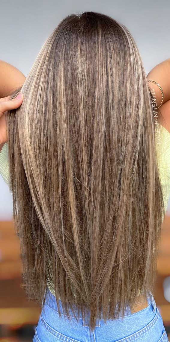 The Best Hair Color Trends And Styles For 2020 Brown Hair With Subtle Golden