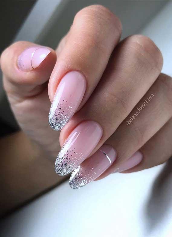 Nail Art Designs You'll Want to Wear : Natural Shimmery Nails