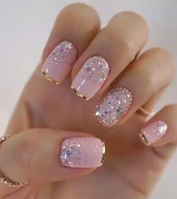glitter nails designs, glitter nails ombre, glitter nails acrylic, pink and silver glitter nails, glitter nails coffin, nails with glitter tips, glitter nail designs 2019 #naildesigns gold glitter nails, best glitter nails, glitter nail designs 2020 #glitternails #nailart