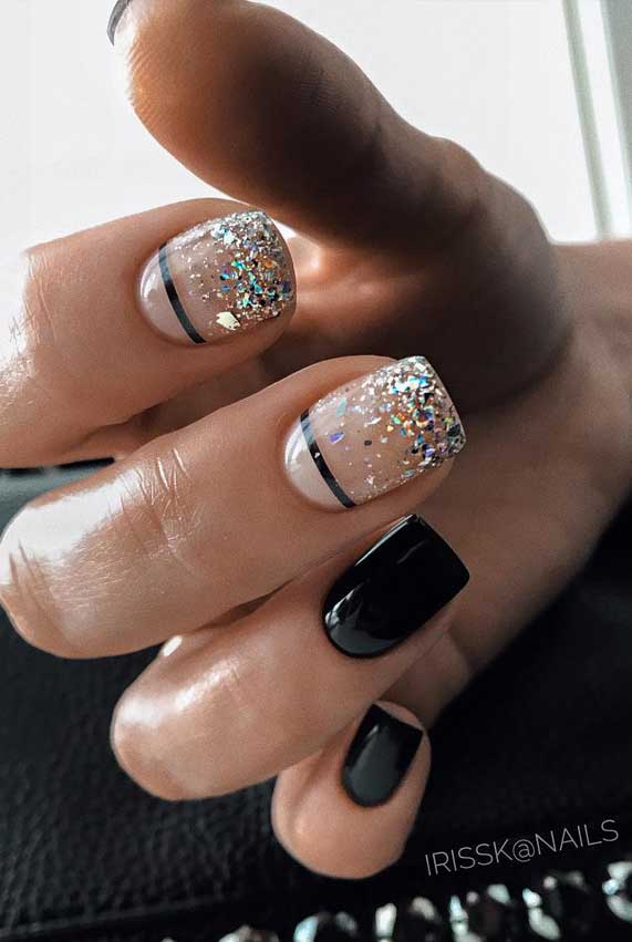 glitter nails designs, glitter nails ombre, glitter nails acrylic, pink and silver glitter nails, glitter nails coffin, nails with glitter tips, glitter nail designs 2019, gold glitter nails, best glitter nails, glitter nail designs 2020 #glitternails