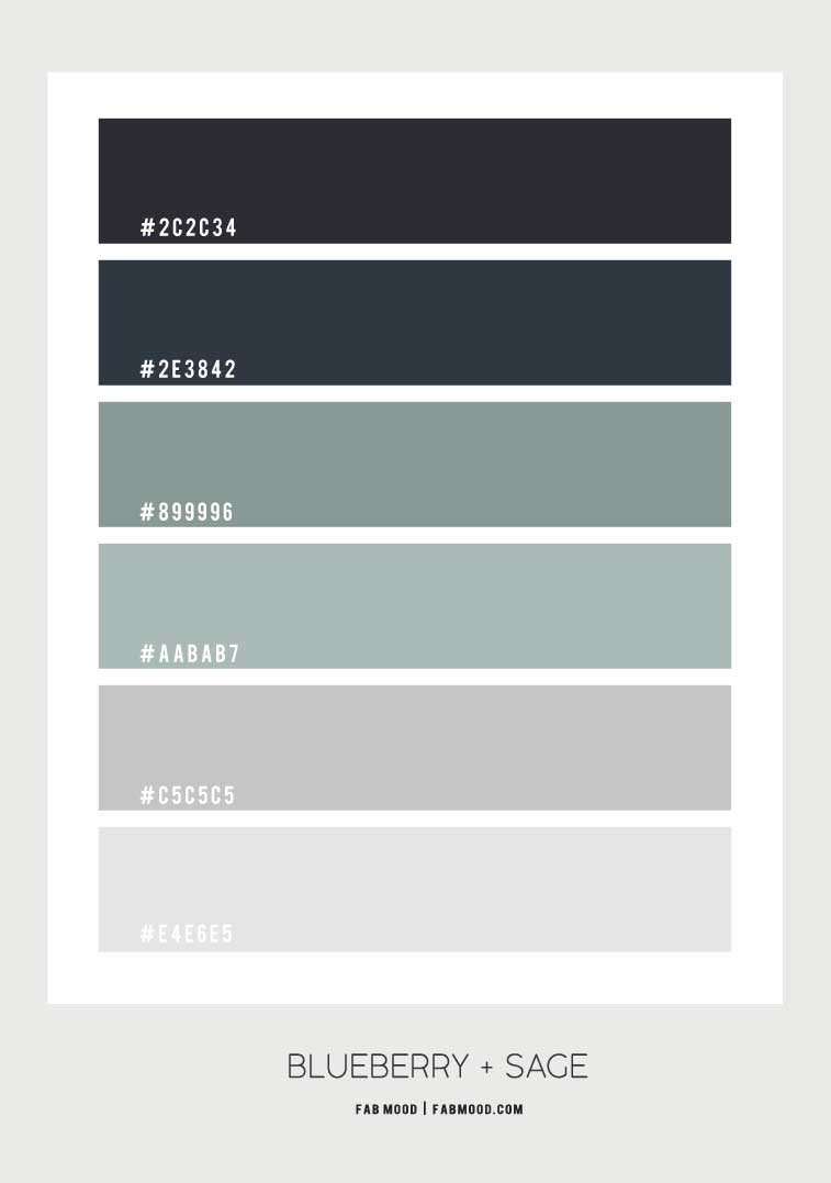 blueberry and sage color palette, dark blue and sage color scheme, dark blue and sage color combo, color combos