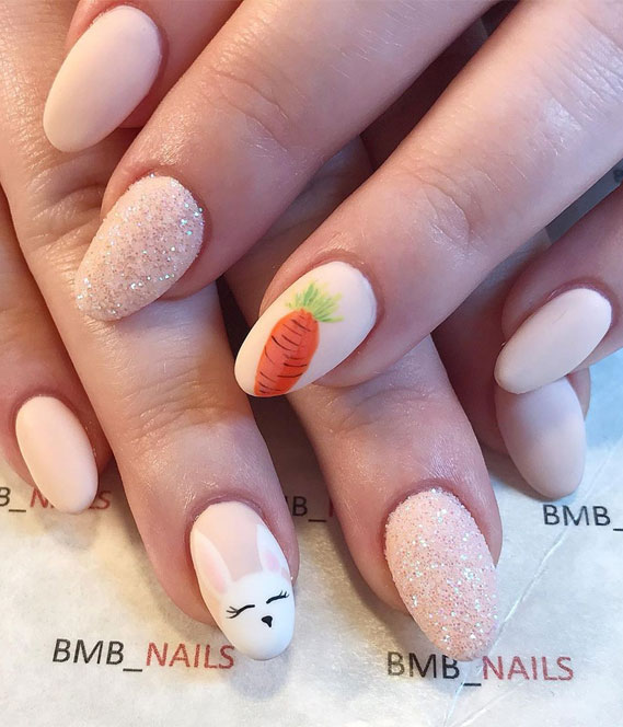 Pretty Easter Nails To Cheer Up During An Outbreak