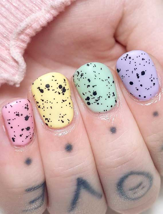 easter nails, pastel nails, nail art , nail art designs, nail design ideas, ombre nails, spring nails #nailart #springnails #ombrenails acrylic nails