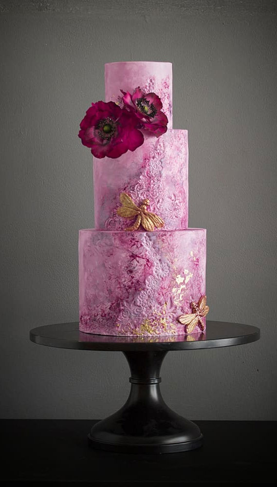 Obsessed With Everything About These Pretty Wedding Cakes