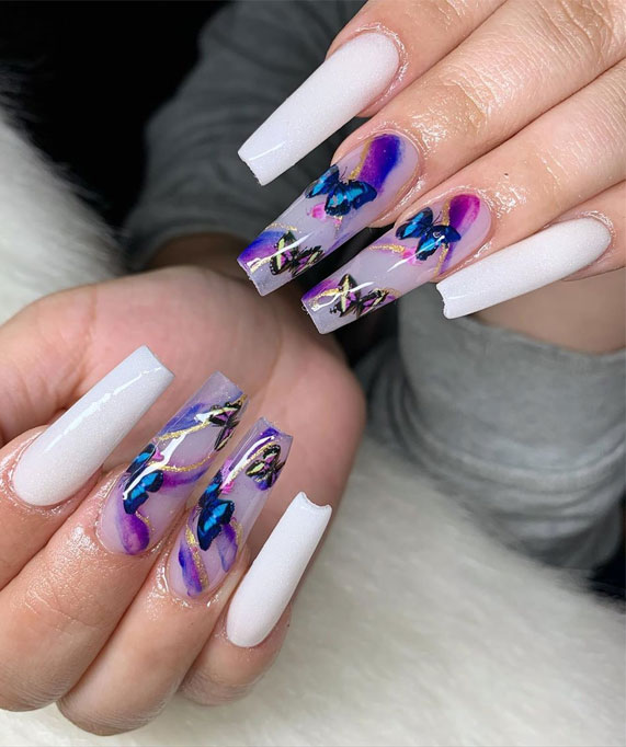 marble nails 8
