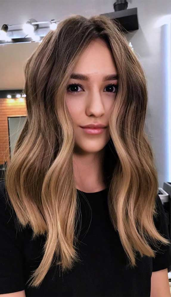 best hair color, hairstyle #haircolor #hairstyle brown hair, ombre hair , balayage hair , hair color ideas, hair color, brown hair with highlights , balayage hair brown, balayage dark hair, balayage hair short, balayage straight hair, balayage brunette, balayage vs highlights, balayage hairstyles