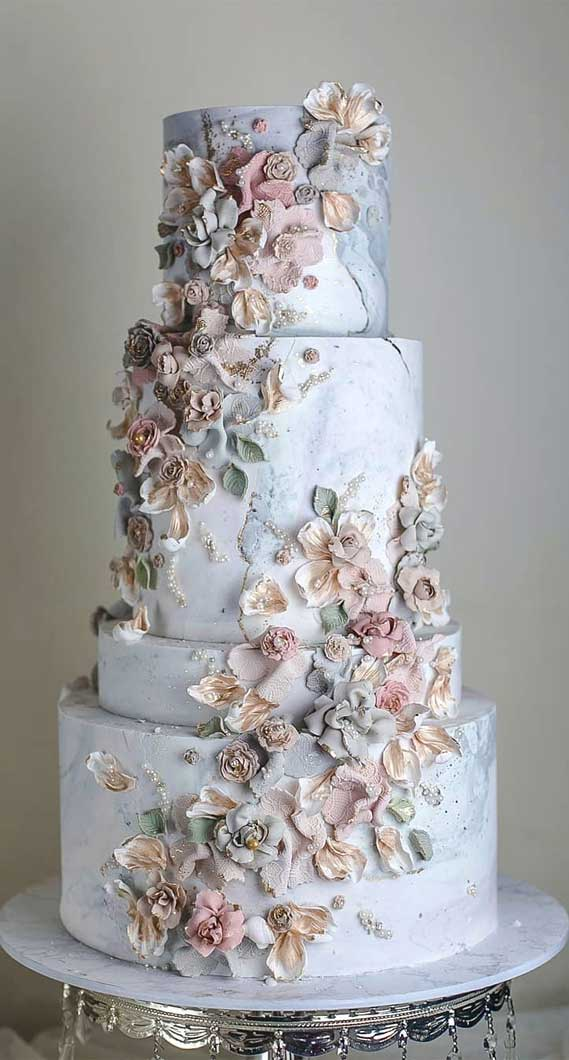 blue wedding cake, blue buttercream wedding cake, wedding cake, wedding cake designs, wedding cake ideas, unique wedding cake designs #weddingcake #weddingcakes #cakedesigns wedding cakes 2020 , wedding cake designs 2020, wedding cake ideas
