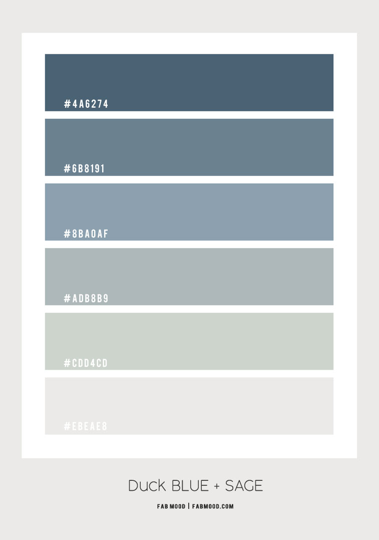 duck blue and sage color palette , dark blue and sage bedroom, duck blue bedroom, bedroom color ideas, bedroom color palette , duck blue, bedroom colors, sage bedroom #color #sage #duckblue #bedroom #ombreblue