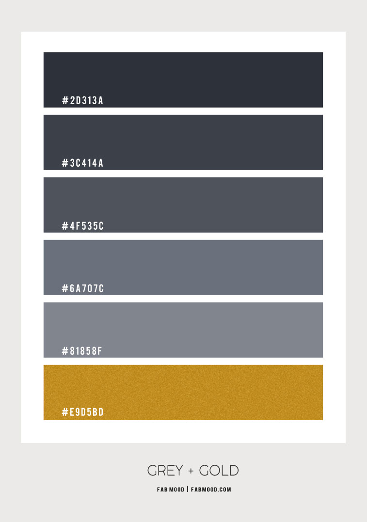ombre grey and gold color palette, dark grey and gold color scheme, grey and gold color palette , grey and gold color combos