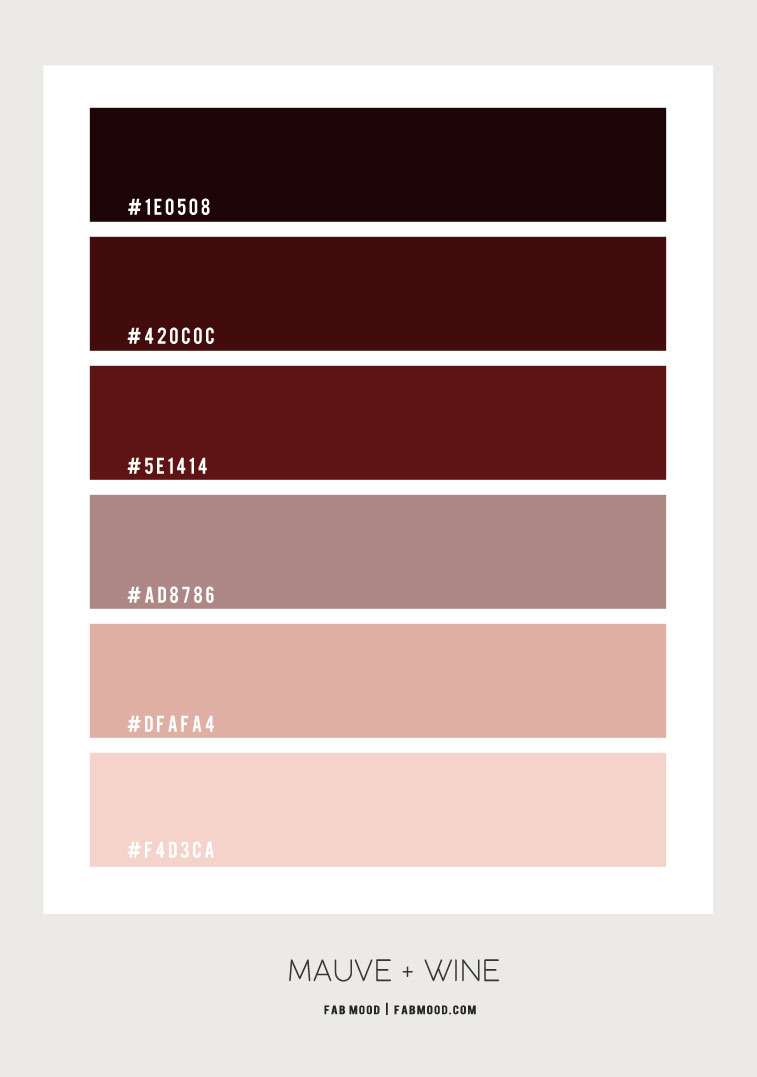 wine and mauve color scheme, mauve and wine color scheme for bedroom, wine color bedroom, mauve and red wine color combo