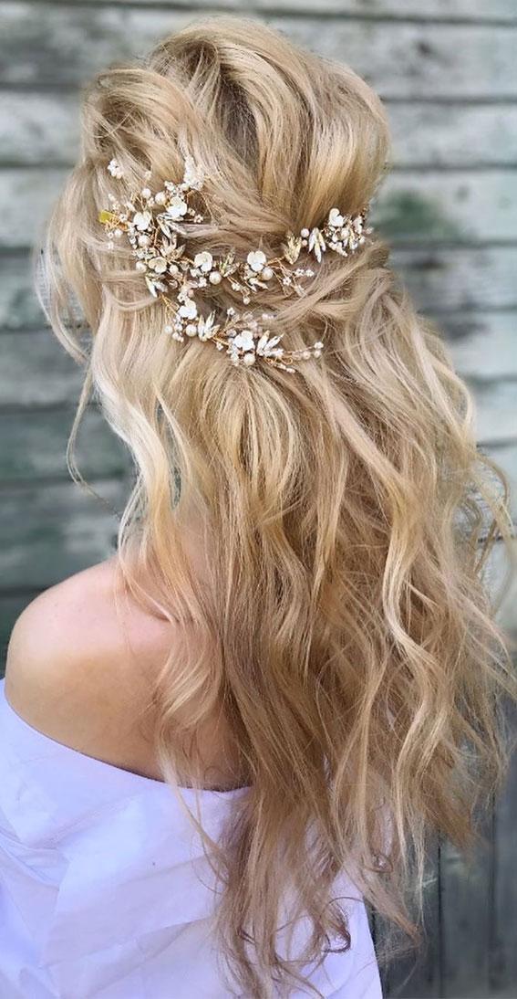 Gorgeous Half up hairstyles – 45 Stylish Ideas