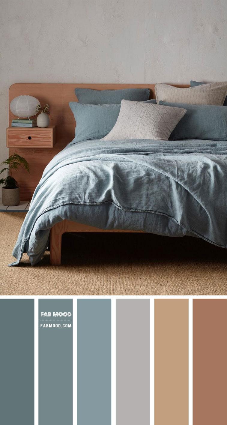 Blue Teal Bedroom