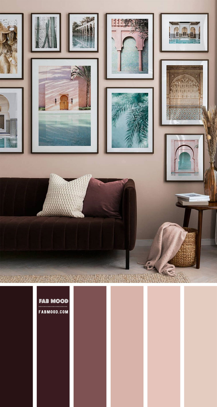 earth tone living room, living room color ideas, wine colored living room, earth tone living room decor ideas #livingroom #colorpalette #livingroomcolor