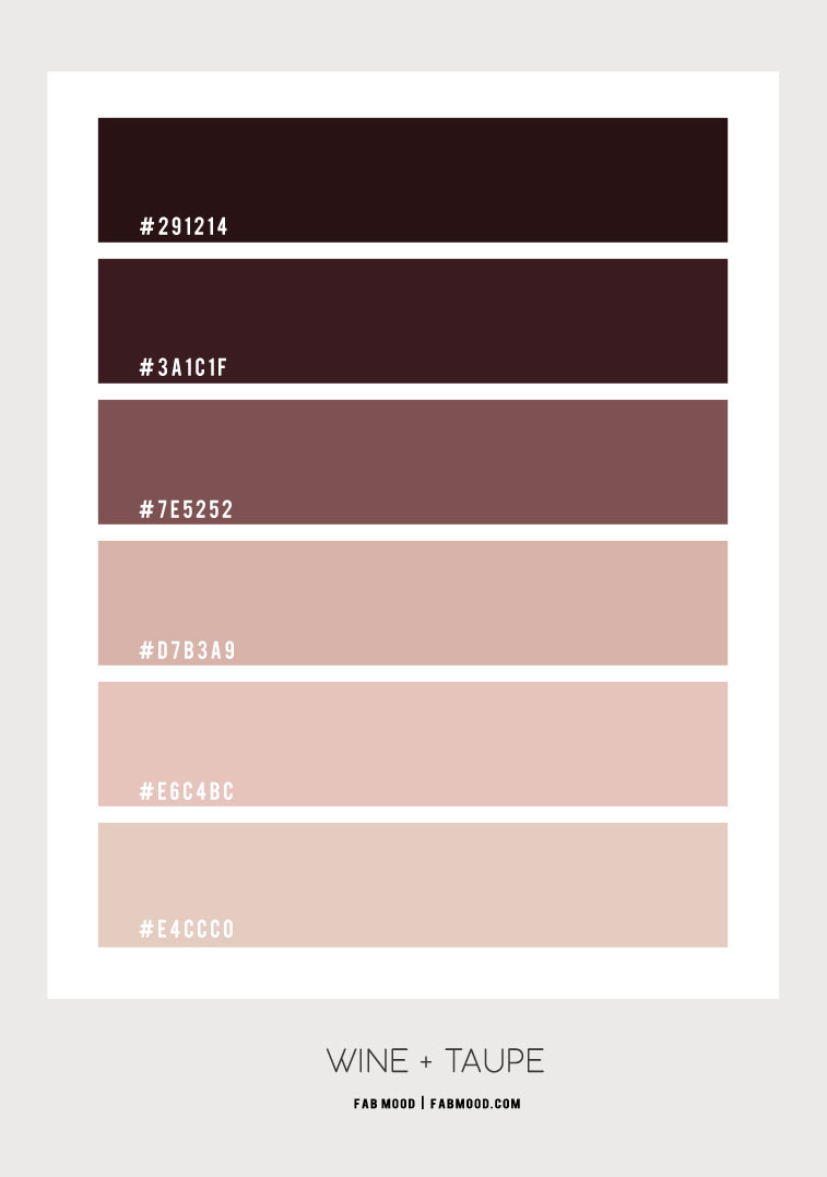wine color scheme, neutral color scheme, earth tone color scheme, wine color combo, color scheme #colorscheme #colorcombo #colorpalette #winecolorscheme