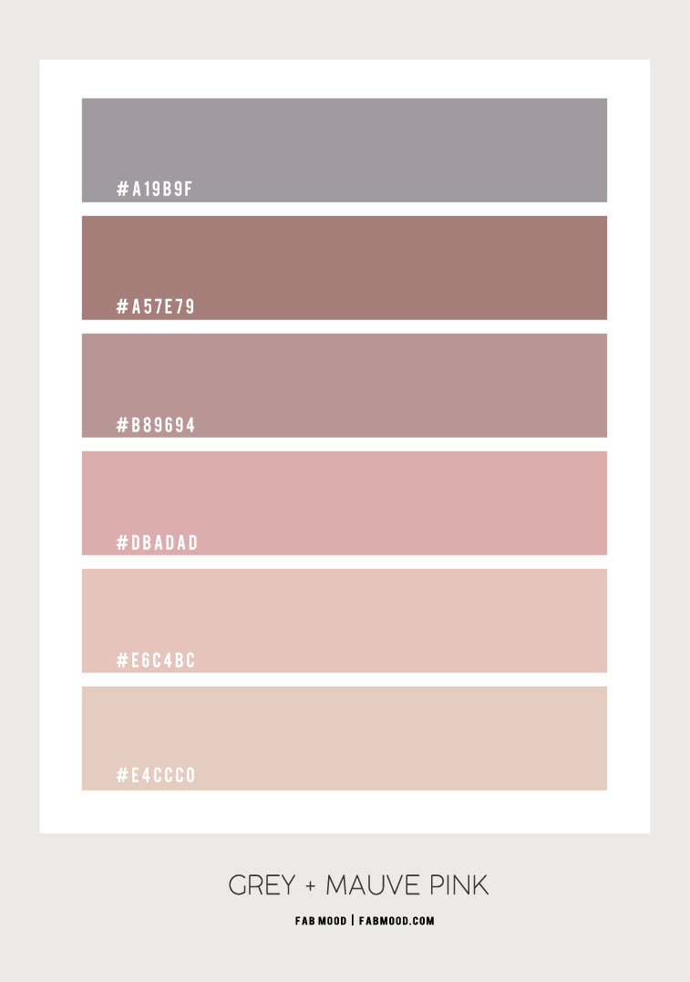 grey and pink color scheme, pink and grey color scheme, pink color combos, grey and mauve color scheme, color combination, pink color combination