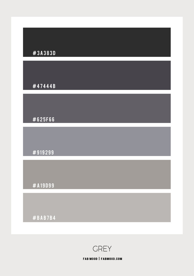 grey bedroom, shades of grey, grey color scheme, bedroom color combo, grey color combo #color #greycolor #greycolorcombo #colorscheme