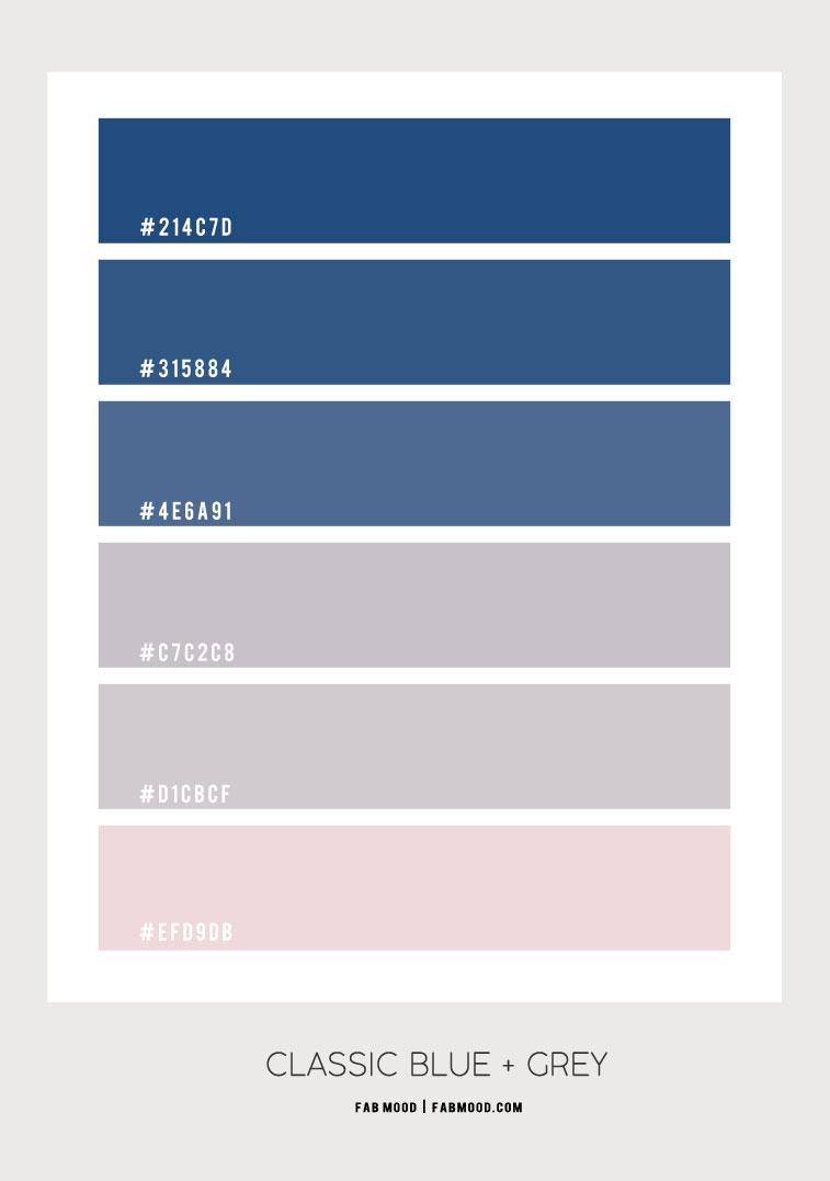 classic blue , classic blue color palette, classic blue and grey color scheme, classic blue and grey color combo, blue color scheme , blue color combos