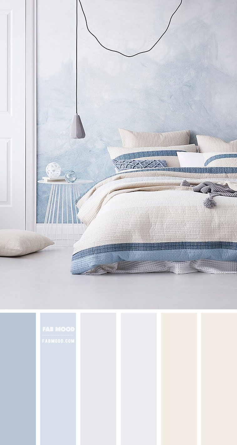 Light Blue Bedroom Colour Scheme