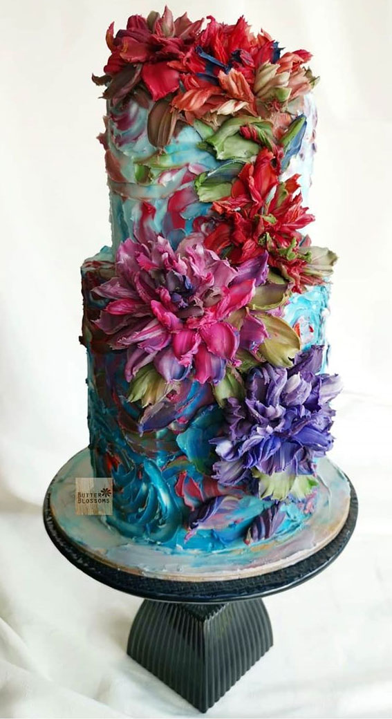 floral buttercream cake , wedding cake ,floral buttercream wedding cake, buttercream flower cake, buttercream floral cakes, wedding cake buttercream #weddingcake #buttercream #buttercreamcake floral buttercream wedding cakes
