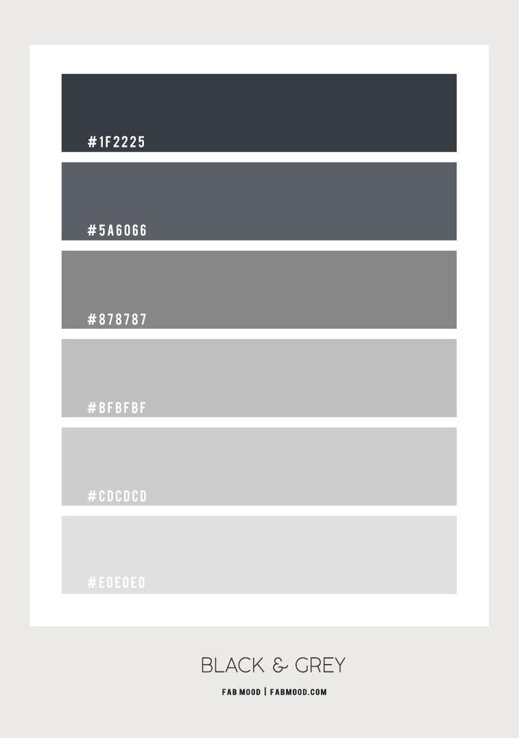 black and grey , grey color scheme, black and grey color scheme #colorscheme #grey #greycolor grey color scheme, black and grey color combo