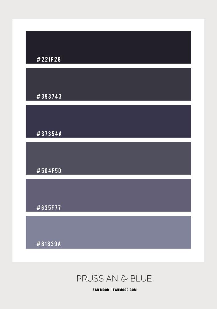 prussian colour, prussian, prussian color,dark blue , navy blue and grey, blue grey , prussian color hex, prussian color scheme, dark blue color combo