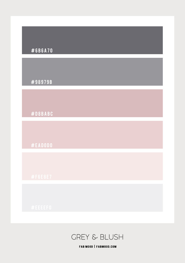 grey and blush, blush and grey, blush and grey color scheme, pink and grey color scheme , blush and grey color palette, blush and grey colour palette