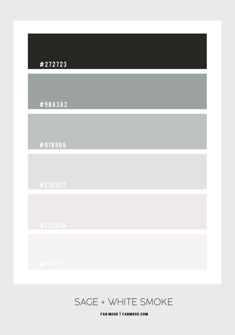 sage, sage and white, sage and white color scheme, sage color combo, sage and white color scheme, sage green color scheme #color #colorscheme #sage #sagecolor