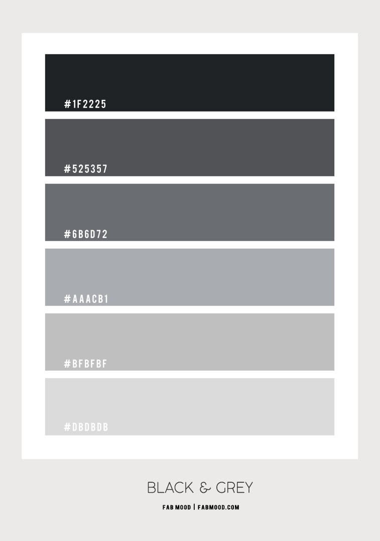 black and grey , grey  color scheme,  black and grey color scheme #colorscheme #grey #greycolor grey color scheme, black and grey color combo