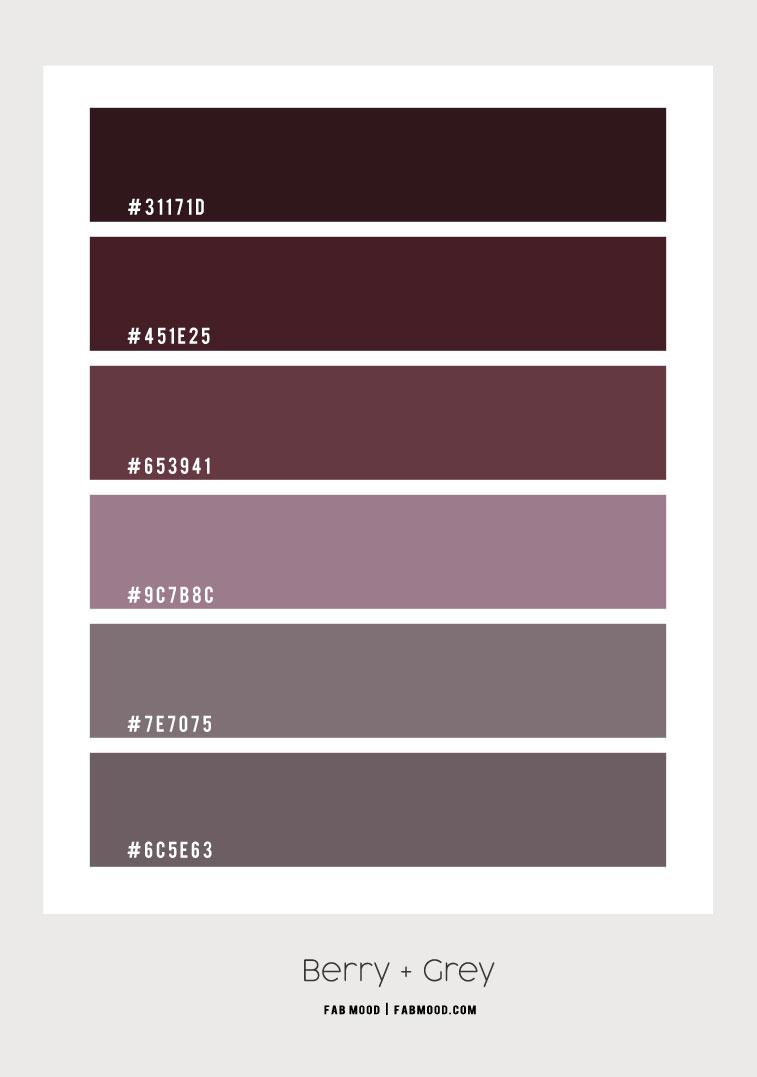 berry shades, berry color scheme, berry color combo, berry color palette, purple color combo, color palette , color scheme