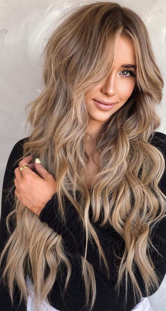 Hazelnut hair color in 2016, amazing photo