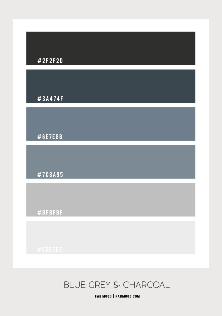 blue grey and charcoal, blue grey color scheme,  blue grey and charcoal color scheme #colorscheme #bluegrey #greycolor grey color scheme, black and grey color combo