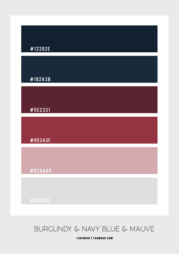 burgundy and dark blue , burgundy and mauve , navy blue and mauve color , color scheme , color palette, color combination , burgundy color scheme