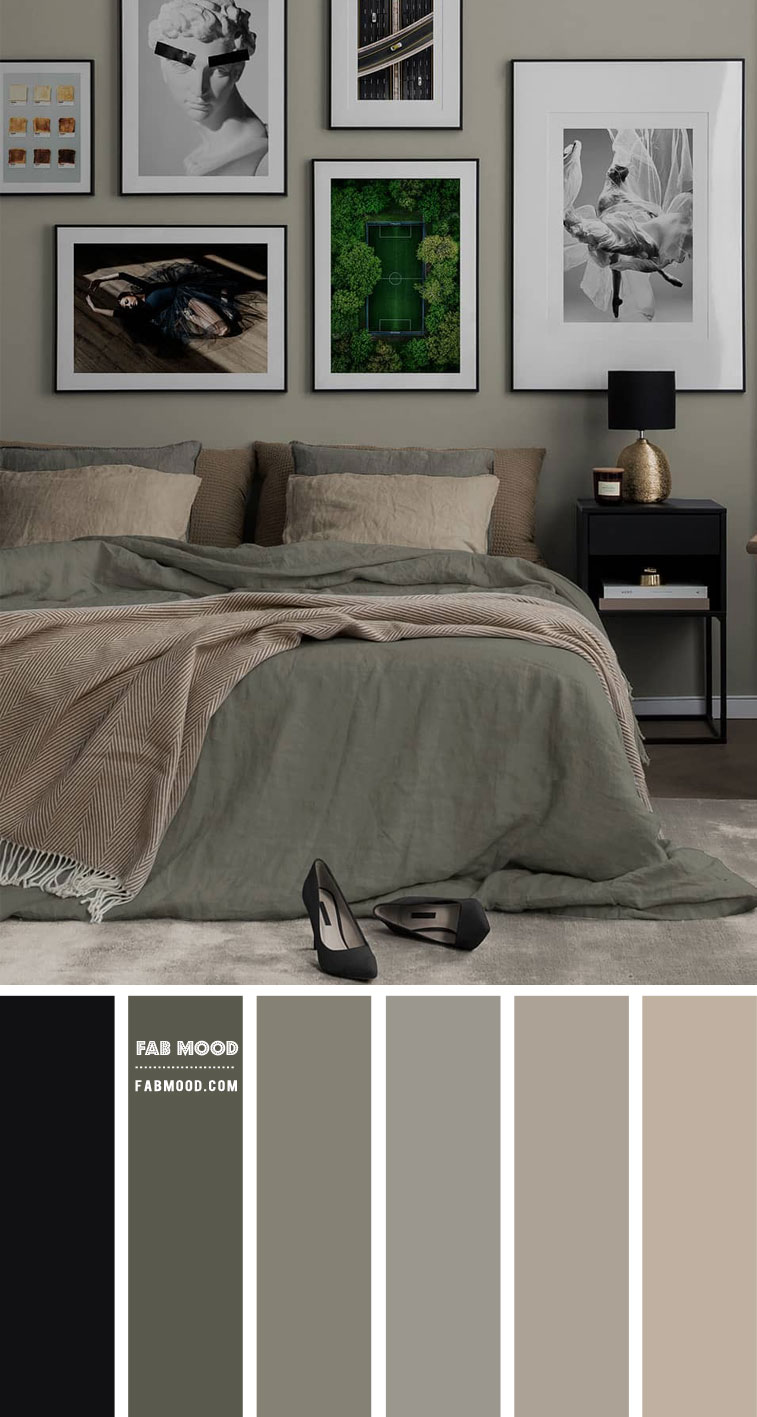 Muted Green Bedroom