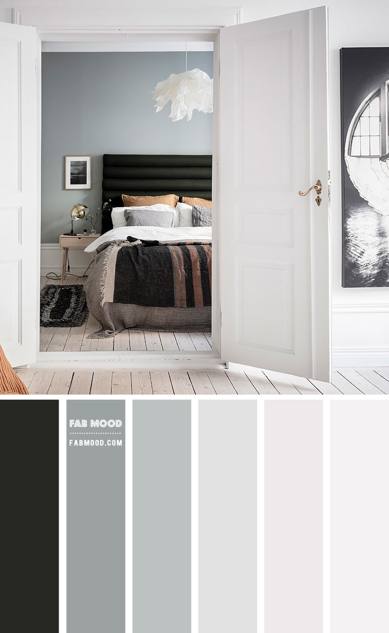 Sage and White Bedroom Color Scheme