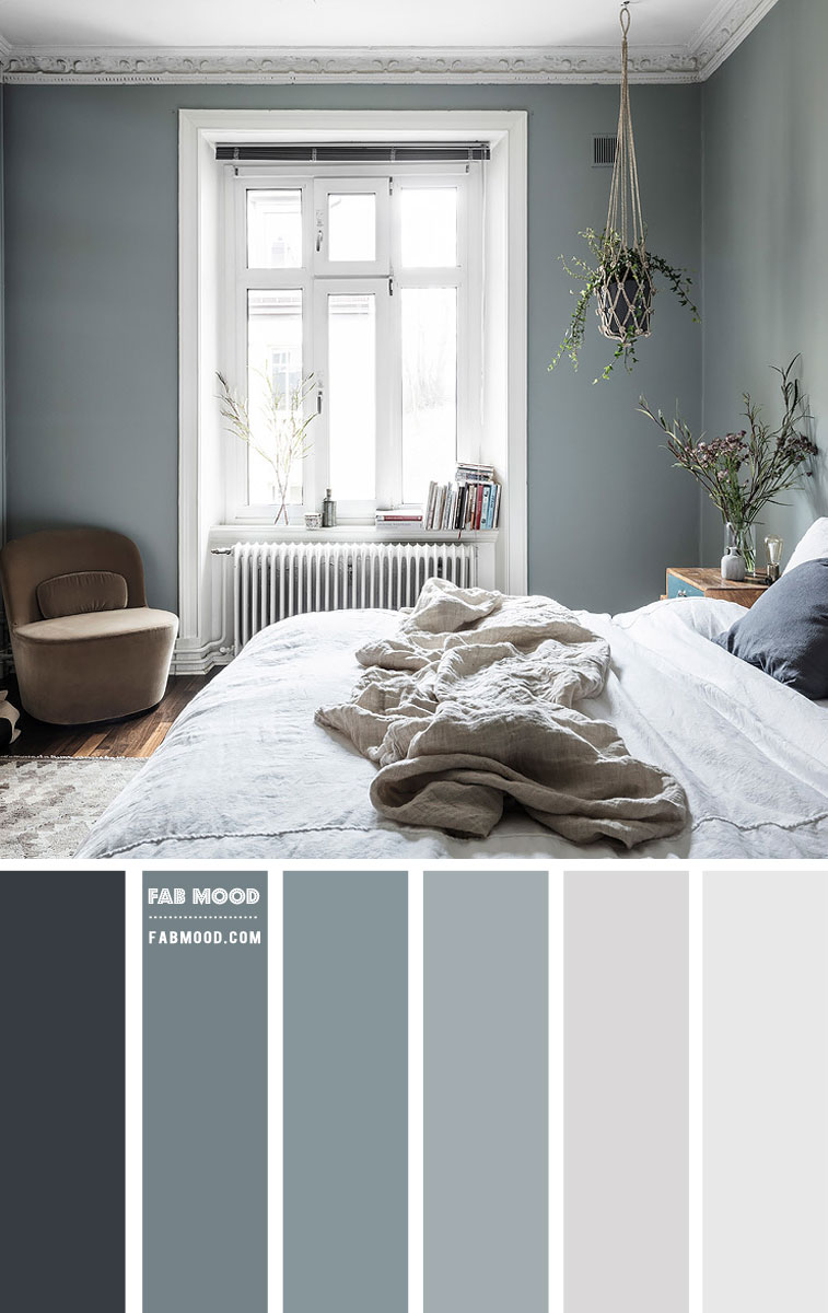slate green bedroom, slate green bedroom decor, slate green wall, duck blue bedroom, slate green and grey bedroom, bedroom color, bedroom color painting, bedroom wall colors
