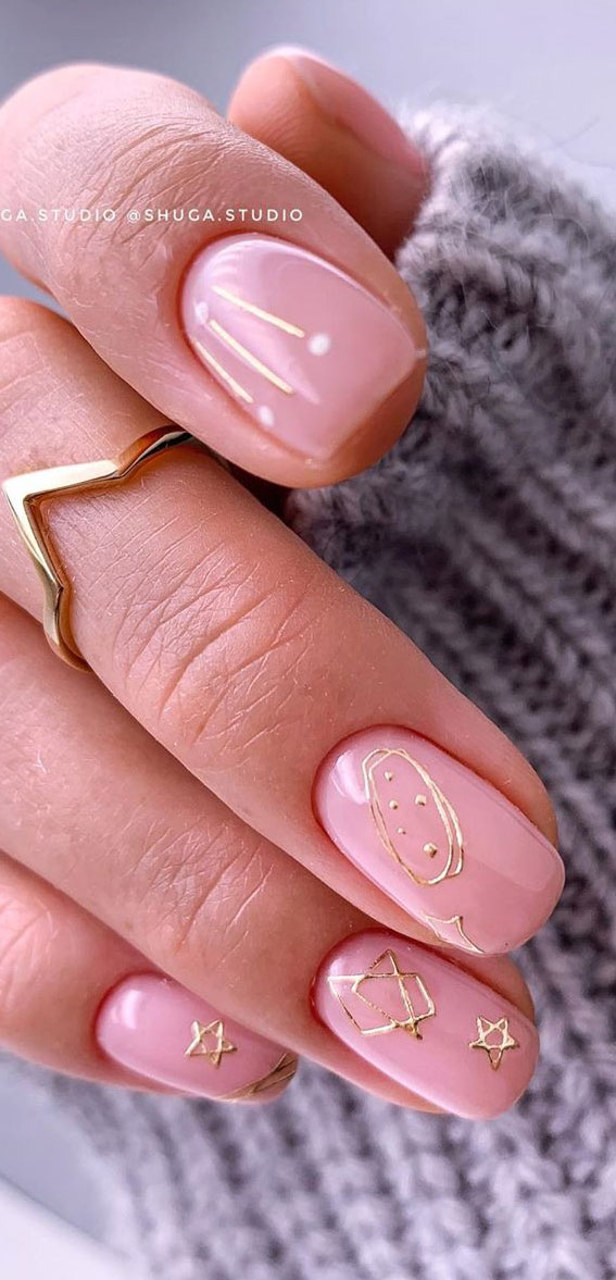 50 + Cute Summer Nail Ideas For 2020 – Delicate effect