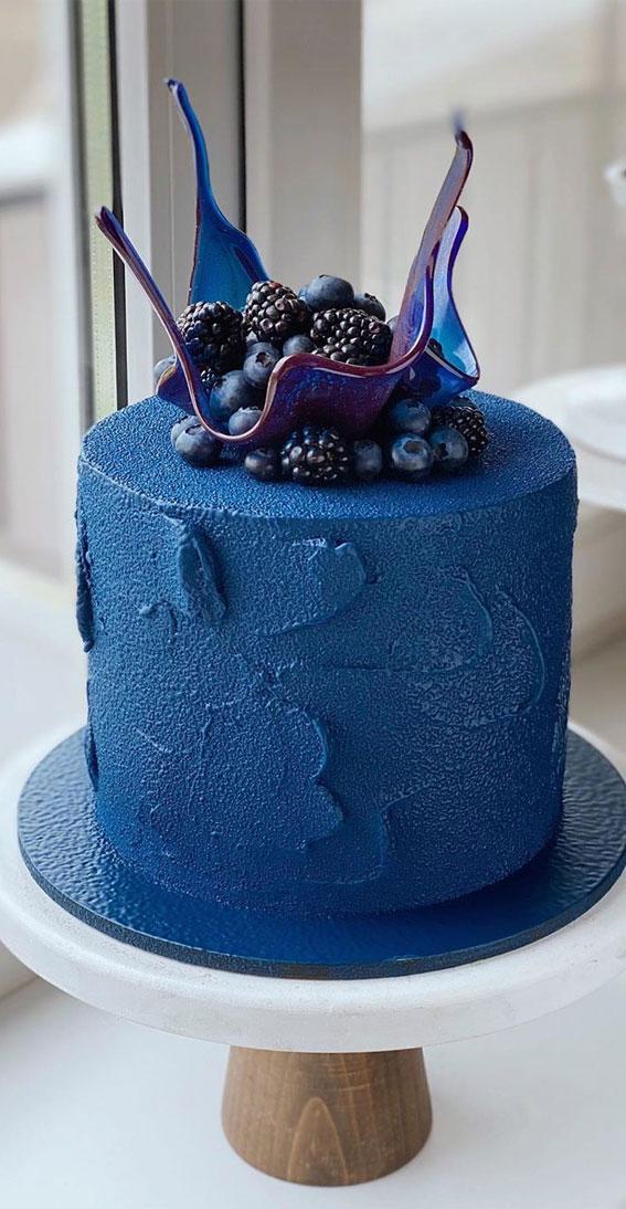 57 Beautiful Cake Inspiration – Blue Velvet Cake