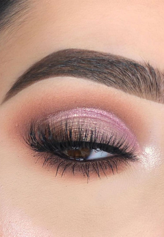 Gorgeous Eyeshadow Looks The Best Eye Makeup Trends – Subtle Pink