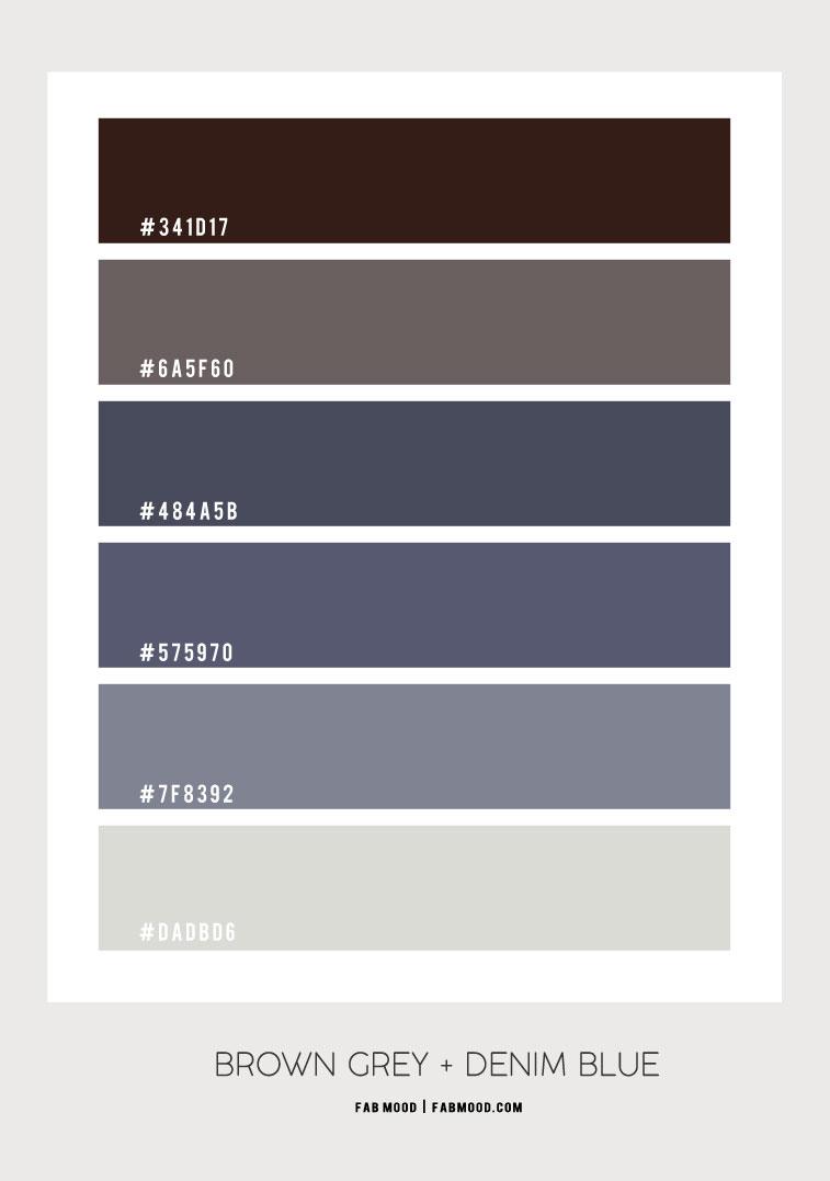 denim blue color, denim blue and brown color combo, denim wall colors , denim blue color ideas, denim blue colour #colorshcme #denimhexcolor denim hex color