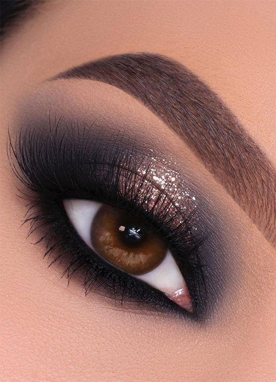 Gorgeous Eyeshadow Looks The Best Eye Makeup Trends – Bronzed Smokey