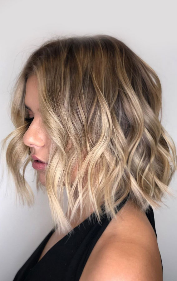 40 The Best Autumn Hair And Colour Ideas You'll Be Dying : bronde bob
