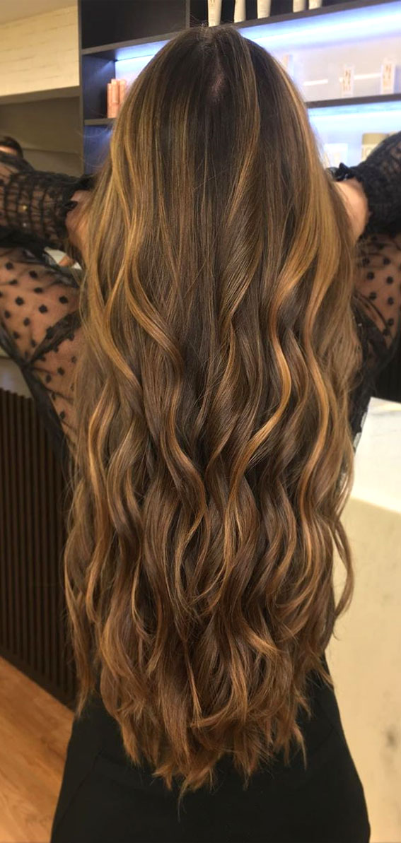 40 The Best Autumn Hair And Colour Ideas You'll Be Dying : Caramel Brown