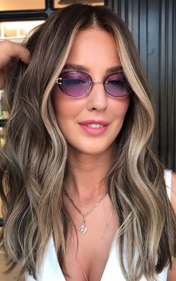 40 The Best Autumn Hair And Colour Ideas You'll Be Dying : Bright blonde face framing