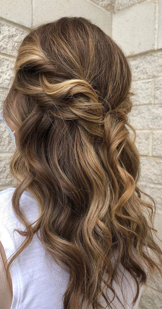 33 Romantic Half Up Half Down Hairstyles Formal Style