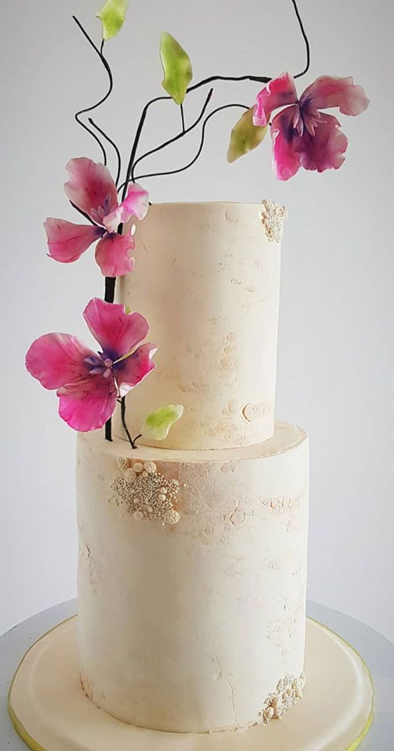 These 50 Beautiful Wedding Cake Designs You Will Be Blown Away : vintage-inspired wedding cake