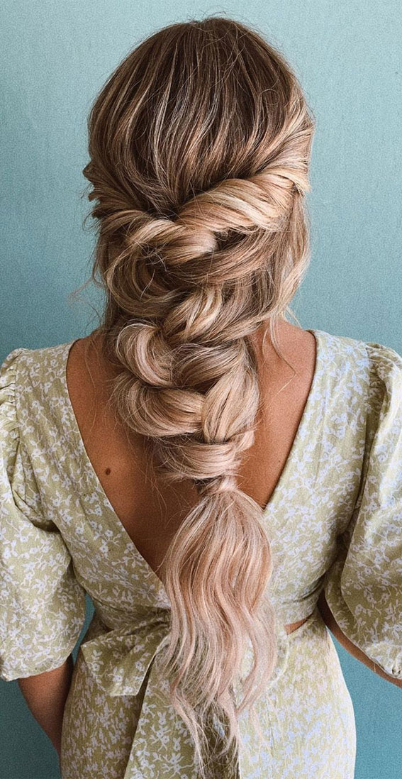 72 Braid Hairstyles That Look So Awesome : Twisted Half Up & Braid